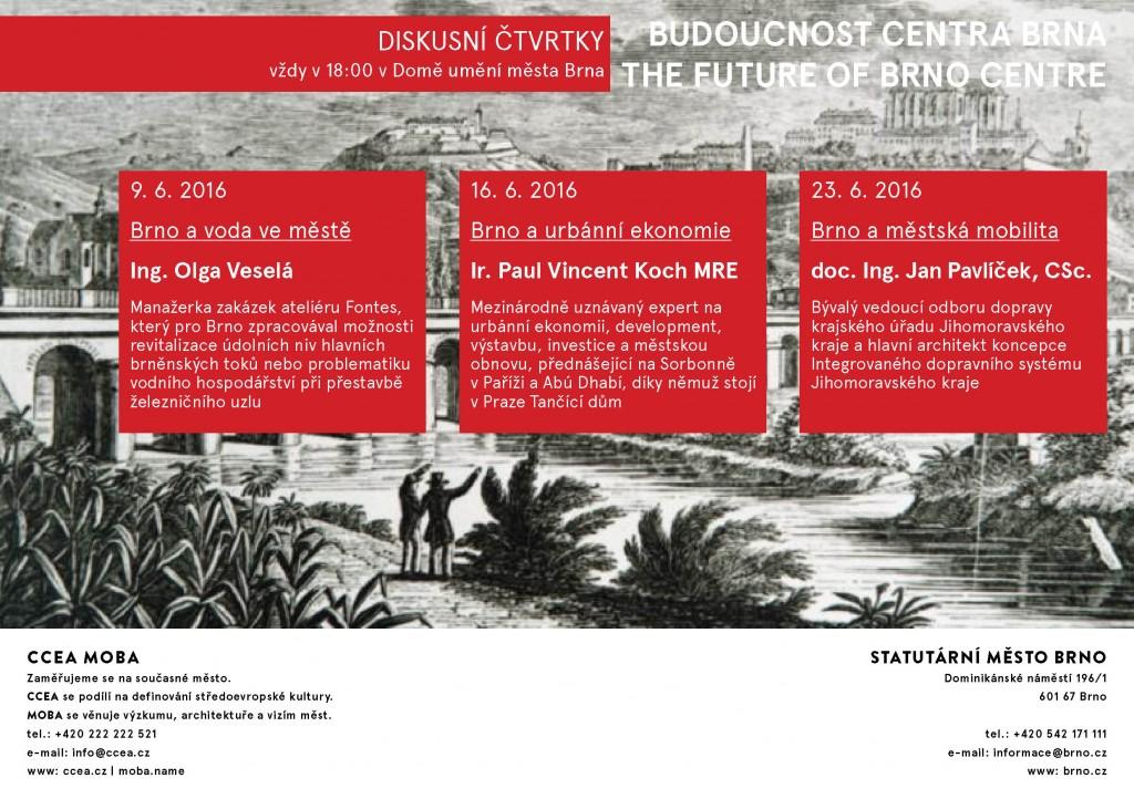 pozvanka_diskuse_Budoucnost centra Brna